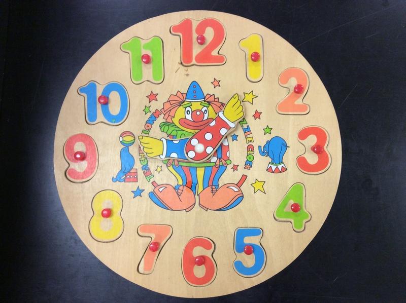 C201426: Clown Clock Puzzle