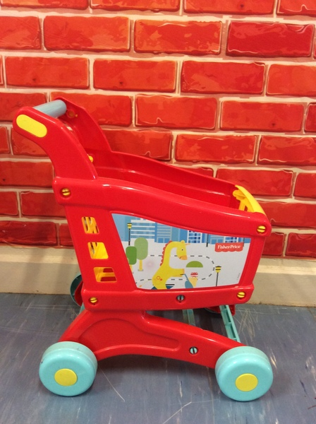 E2100554: Fisher-Price Shopping Trolley