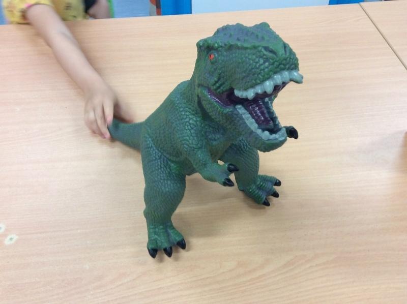 E2.744.8: Dinosaur Tyrannosaurus