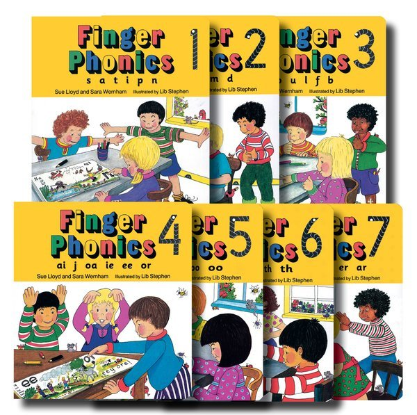 E3.090.1: FINGER PHONICS BOOKS SET