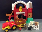 E2.007.1A: LITTLE PEOPLE BARN & TRACTOR