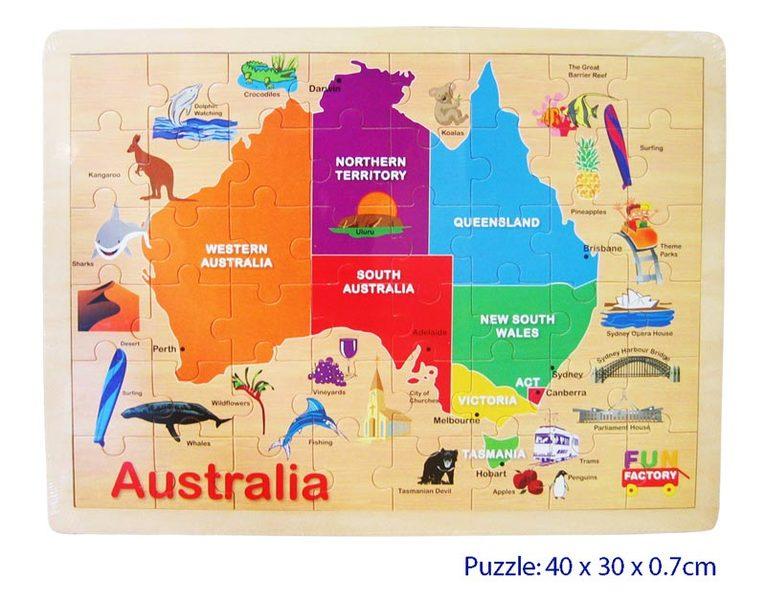 C2.025.1: AUSTRALIA MAP PUZZLE