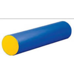 C4.394.1: YELLOW AND BLUE FOAM CYLINDER