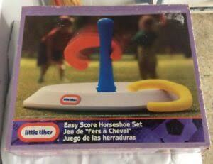 G2.233.2: LITTLE TIKES EASY SCORE HORSESHOE SET