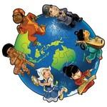 C2.092.1: CHILDREN OF THE WORLD FLOOR PUZZLE