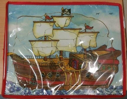 C2.507.1: PIRATE SHIP FLIP PUZZLE