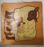 C2.593.1: WOODEN SHEEP PUZZLE