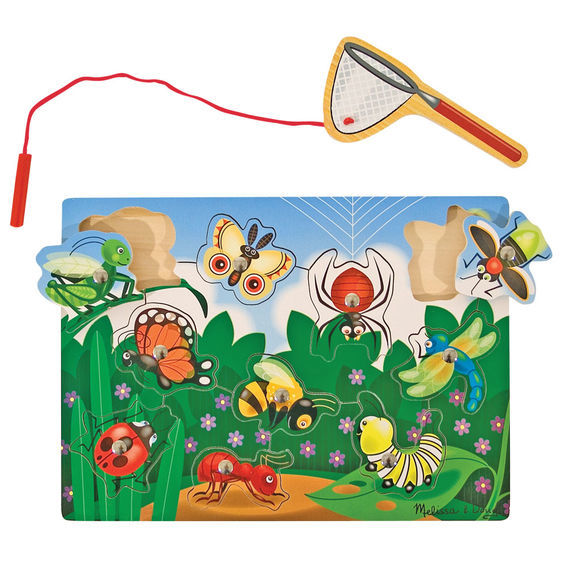 C4.552.1: MAGNETIC BUG CATCHING GAME PUZZLE