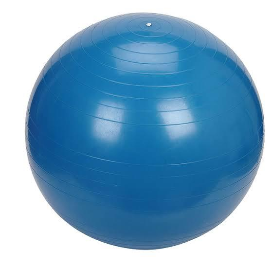 G2.260.1: LARGE (100CM) BLUE INFLATABLE RUBBER BALL