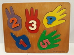 C2.628.1: RAISED HANDS AND NUMBERS PUZZLE
