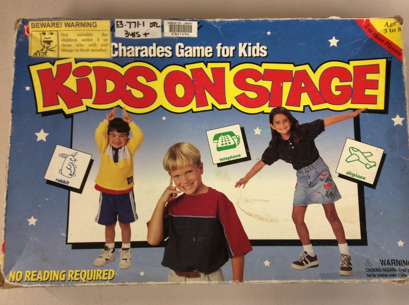 E3.771.1: KIDS ON STAGE - CHARADES