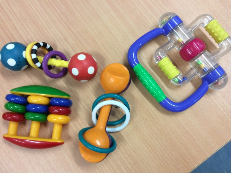 B2.009.1: ASSORTED RATTLE TOYS