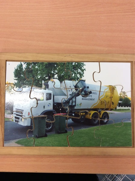 C2.267.1: RECYCLING TRUCK PUZZLE