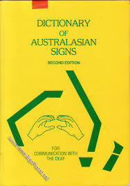 B3.436.2: AUSTRALASIAN DICTIONARY OF SIGN