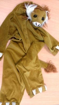 E2.018.2: LEO THE LION DRESS-UP
