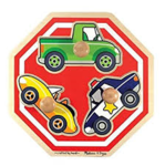 C2.728.2: JUMBO KNOBBED PUZZLE: STOP SIGN