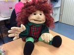 C4.977.1: SIGNING PUPPET: 'GINGER'