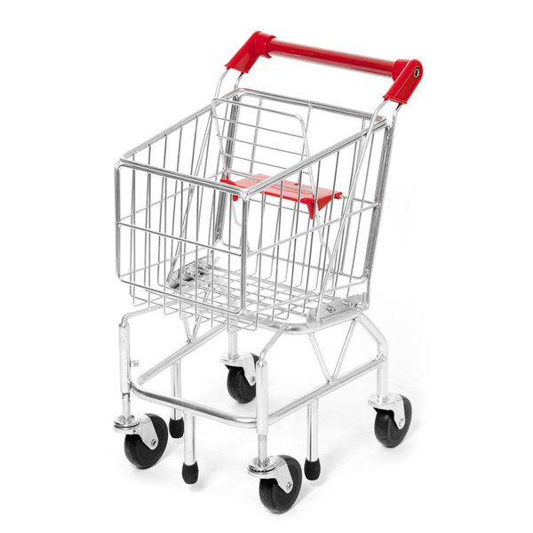 E2.858.1: METAL GROCERY CART