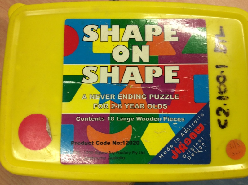C2.100.1: SHAPE ON SHAPE PUZZLE