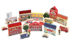E2.918.1: TOWN BLOCKS PLAY SET