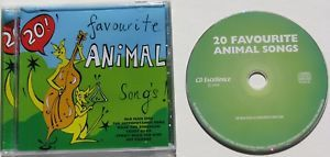 A6.009.1: 20 FAVOURITE ANIMAL SONGS