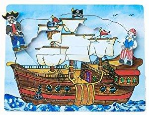 C2.507.3: PIRATE SHIP FLIP PUZZLE