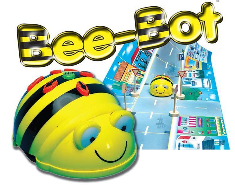 C4.938.2: BEE-BOT FLOOR ROBOT & 2 MATS