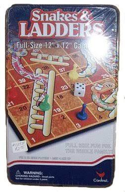 G1.341.1: SNAKES AND LADDERS IN A TIN