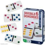 D1.452.1: DOUBLE 6 DOMINOES