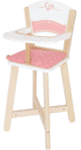 E2.966.1: WOODEN HIGH CHAIR