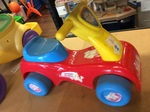 A1.186.1: FISHER PRICE ABC 123 BIKE
