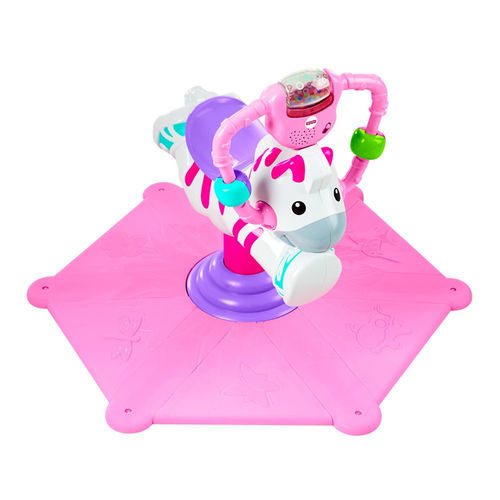 A2.387.5: PINK BOUNCE AND SPIN ZEBRA