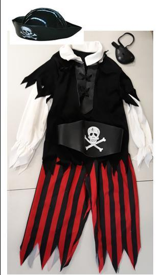 E2.978.7: Dress ups Pirate Boy