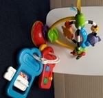 B1.002.3: Baby Tabletop Toy and Large Keys
