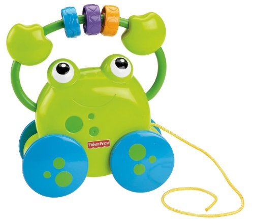 B1.002.5: Pull along Frog