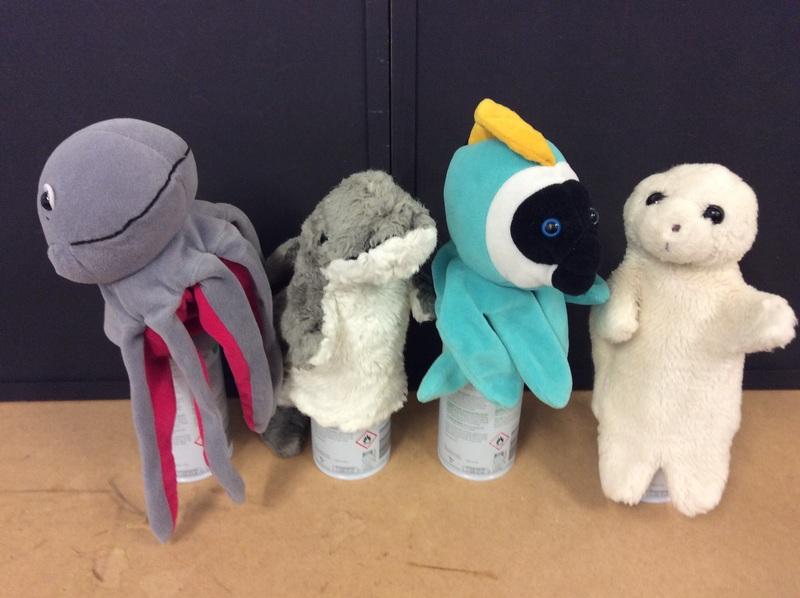 E2.463.51: Sea Hand Puppets