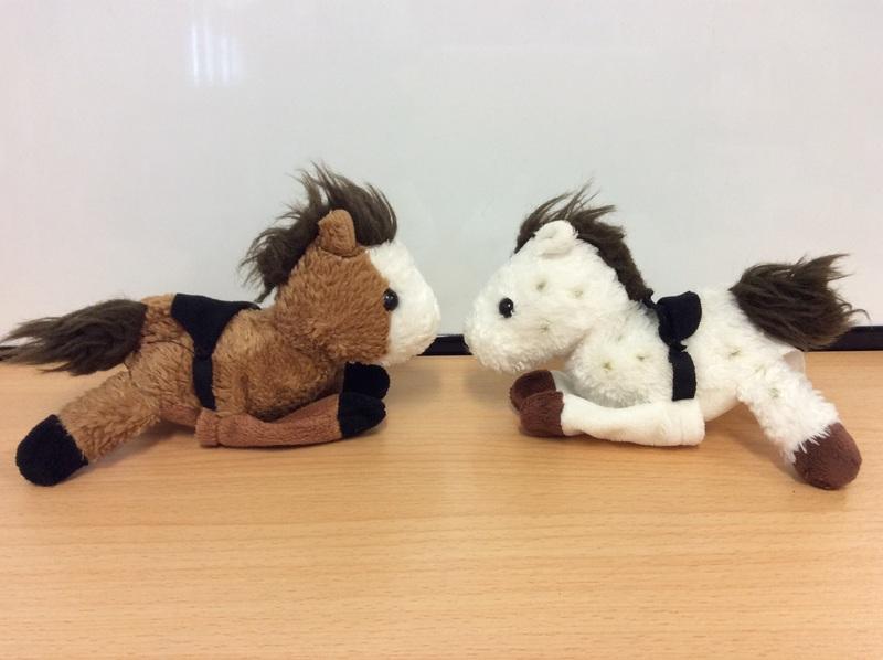 E2.964.2: HORSE FINGER PUPPETS