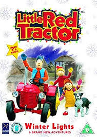 A6.114.9: The Little Red Tractor - Winter Lights