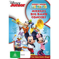 A6.144.5: Mickey Mouse Clubhouse- Big Band Concert