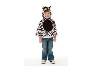 E2.978.21: Zebra Dress Up Cape