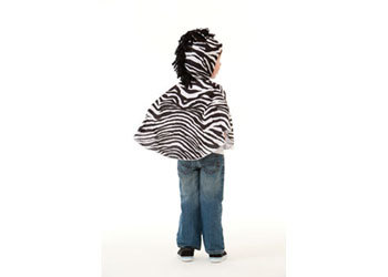 E2.978.22: Zebra Dress Up Cape