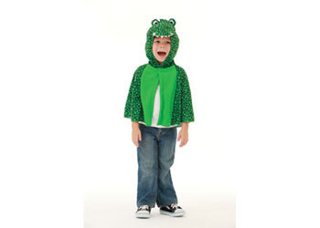 E2.978.23: Crocodile Dress Up Cape