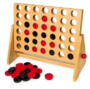G1.045.2: WOODEN CONNECT FOUR