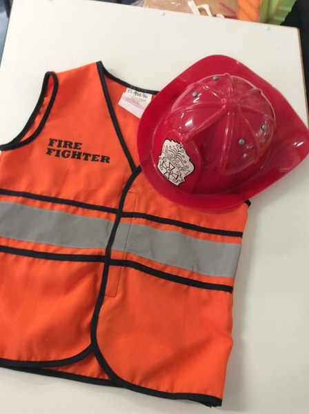 E2.978.26: Firefighter Vest and Hat