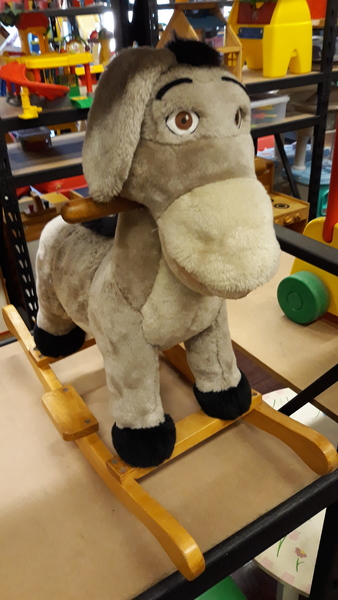A1.181.6: DONKEY ROCKING CHAIR