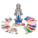 D4.861.3: Human Body Magnetic Dress-up