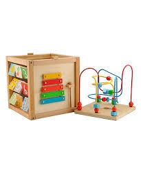C1.483.3: WOODEN MULTI ACTIVITY CUBE