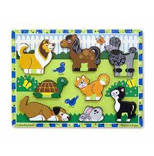 C2.965.1: Melissa & Doug Chucky Puzzle PETS