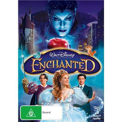 a6.030.9: Enchanted DVD