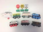 E6001: Wooden Thomas and Friends Train Set